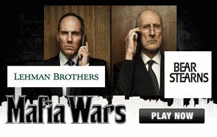 Lehman Brothers vs Bear Stearns - new Mafia Wars game